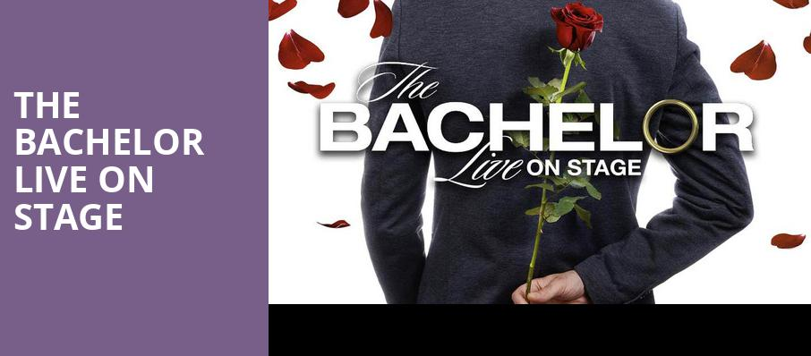 The Bachelor Live On Stage, Cheyenne Civic Center, Cheyenne